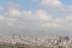 Moderne Stad in het Midden-Oosten stock afbeelding