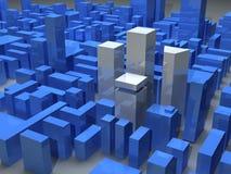 Moderne Stadt Stockbild