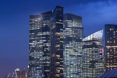 Moderne Stadt lizenzfreies stockbild
