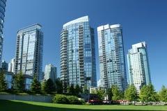Moderne Stadt Lizenzfreie Stockbilder