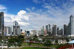 Moderne Stadt-Ansicht Stockfotografie