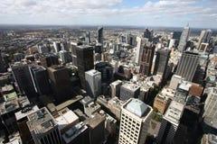 Moderne Stadt - Melbourne stockbild
