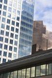Moderne Stadt von Bellevue Washington Lizenzfreies Stockbild