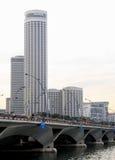 Moderne Stadt von Singapur Lizenzfreie Stockbilder