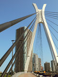Moderne Stadtansicht Stockbild
