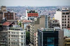 Moderne Stadtgebäude Istanbul Stockfoto