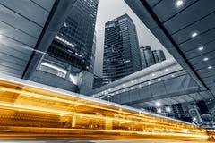 Moderne Stadtnacht Lizenzfreie Stockfotos