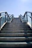 Moderne stappen stock afbeelding