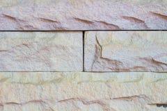 Moderne steenmuur Stock Afbeeldingen