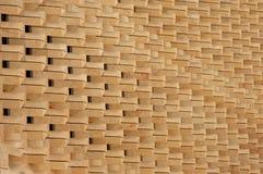 Moderne Steinarchitektur Lizenzfreies Stockbild