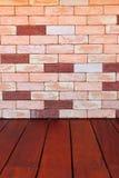 Moderne SteinBacksteinmauer tauchte auf Lizenzfreie Stockbilder