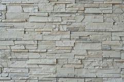Moderne Steinwand. Stockfotografie