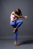 Moderne stijldanser Royalty-vrije Stock Afbeelding