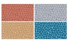 Moderne stilvolle Beschaffenheit der Steinplatte vektor abbildung