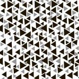 Moderne stilvolle Beschaffenheit mit Dreiecken Vektorabstraktes nahtloses Muster stock abbildung