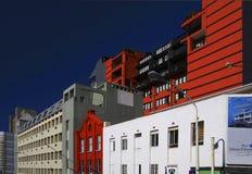Moderne Straat Royalty-vrije Stock Afbeeldingen