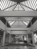 Moderne symmetrische Architektur Stockfotos