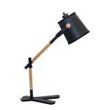Moderne talbe Lampe lokalisiert Stockfotos