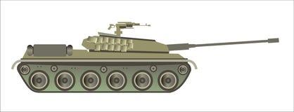 Moderne tank Stock Afbeelding