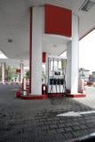 Moderne Tankstelle Lizenzfreie Stockfotografie