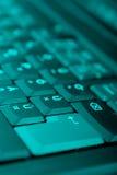 Moderne Tastatur Stockfoto