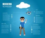 Moderne Technologie Lizenzfreie Stockbilder