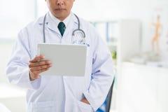 Moderne technologie in geneeskunde Royalty-vrije Stock Foto's