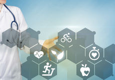 Moderne Technologien in der Medizin Lizenzfreies Stockfoto