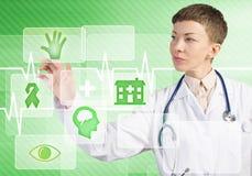 Moderne technologieën in geneeskunde Royalty-vrije Stock Afbeeldingen