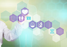 Moderne technologieën in geneeskunde Royalty-vrije Stock Foto