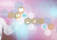 Moderne technologieën in geneeskunde Royalty-vrije Stock Fotografie