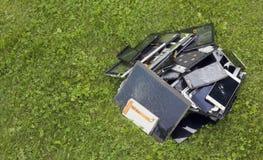 Moderne Technologien verunreinigen Umwelt copncept Stockfotografie