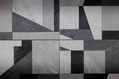 Moderne tegelachtergrond Royalty-vrije Stock Afbeeldingen