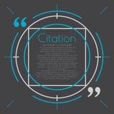 Moderne tekstbel Tekst, verbinding, commentaar royalty-vrije illustratie
