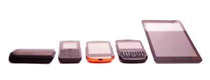 Moderne Telefone Lizenzfreie Stockfotos