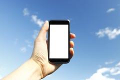 Moderne telefoon Royalty-vrije Stock Afbeeldingen