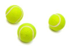Moderne Tenniskugeln Lizenzfreies Stockfoto