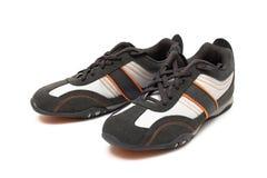 Moderne tennisschoenen Stock Foto's
