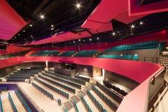 Moderne Theater-Sitzplätze Stockfotos