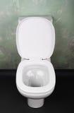 Moderne Toilettenschüssel Stockfotografie