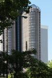 Moderne torengebouwen, Madrid, Spanje Stock Afbeelding
