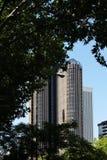 Moderne torengebouwen, Madrid, Spanje Stock Foto