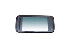 Moderne touchscreen mobiele telefoon royalty-vrije stock afbeelding