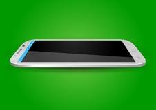Moderne Touchscreen Mobiele Vector Stock Afbeeldingen