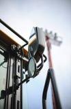 Moderne tractorcabine in bouwstreek royalty-vrije stock foto's