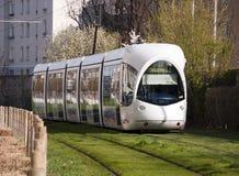 Moderne tram in Lyon Royalty-vrije Stock Afbeelding