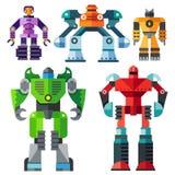 Moderne transformatorrobots Stock Fotografie