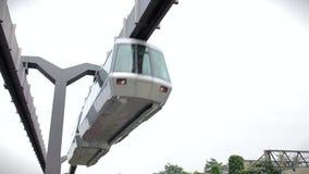 Moderne Transporteisenbahn im Jahre 1080 p
