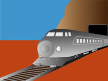 Moderne Trein Stock Fotografie