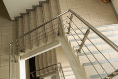 Moderne Treppen Stockbild